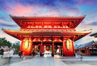 Quadro Tóquio - Japão, Templo de Asakusa
