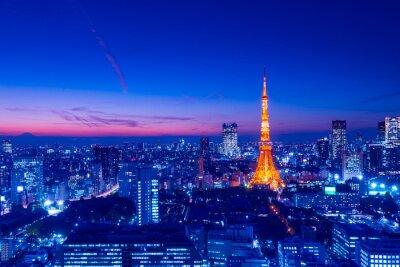 Quadro Torre de Tóquio, Tóquio, Japão