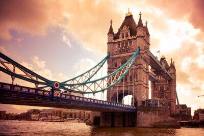 Quadro Tower Bridge de Londres, Reino Unido