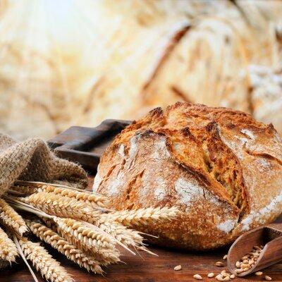 Quadro Tradicional pão acabado de cozer