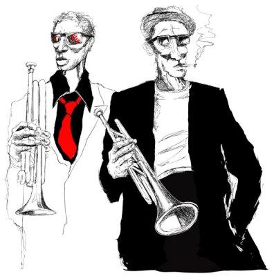 Quadro trompetistas