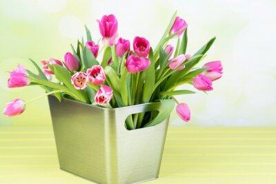 Quadro Tulpenstrauß in der vase