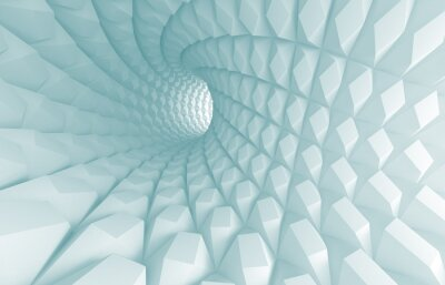 Quadro Túnel Abstract