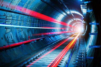 Quadro Túnel do metro
