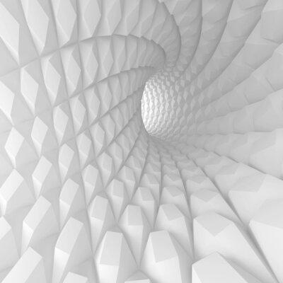 Quadro Túnel Espiral Resumo de renderização