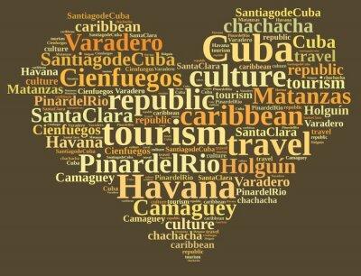 Quadro Turismo Cuba.