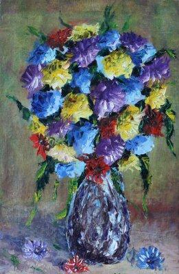 Quadro Vaso de flores, ainda vida