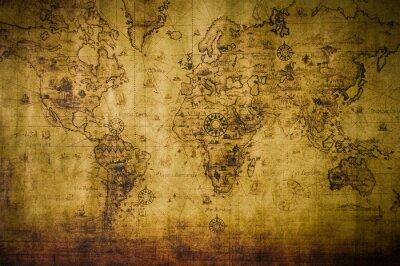 Quadro velho mapa