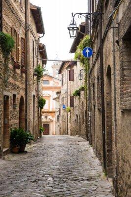 Quadro Vicolo romantico em Italia