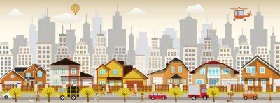 Quadro vida da cidade