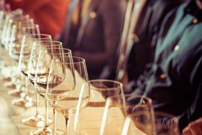 Quadro Vidro para degustação de vinhos