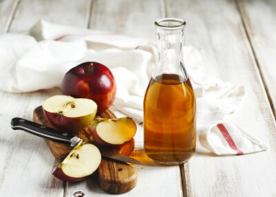 Quadro vinagre de maçã