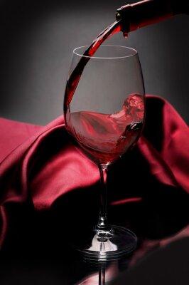 Quadro Vinho tinto
