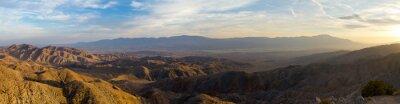 Quadro Vista Panorâmica do Deserto