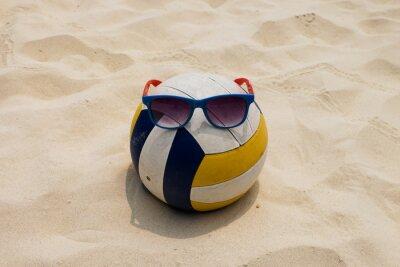 Quadro Voleibol, verão, praia, sunglass