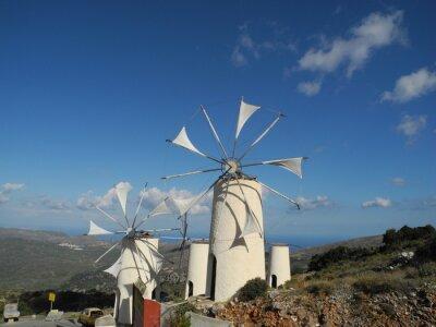 Quadro Windmühle em der Lassithi-Hochebene