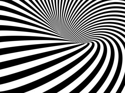 Quadro Wormhole ilusão óptica