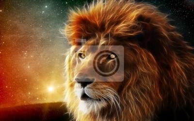Quadro Загадочный лев