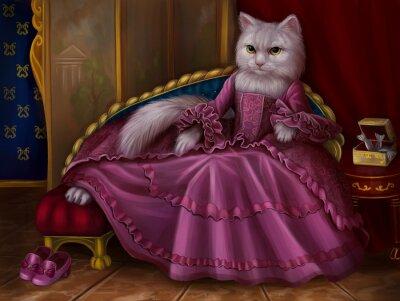 Quadro Кошка графиня