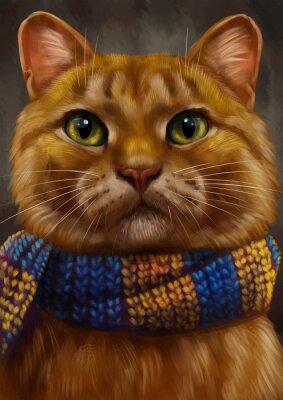 Quadro Рыжий кот