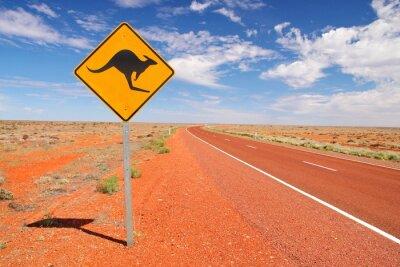 Quadro Estradas intermináveis australianos